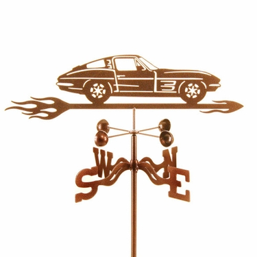 1963 Corvette Split Window Weathervane - Click to enlarge