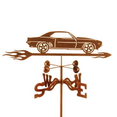 1969 Camaro Weathervane - Click to enlarge