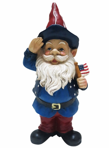 Air Force Garden Gnome Garden Ftempo