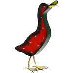 """22"""" Solar Marquee LED Duck"""
