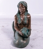 "25"" Island Princess Mermaid - Verde Bronze"