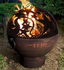 "26"" Fire Bowl w/ Orion FireDome"