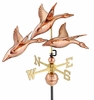 "28"" 3 Geese in Flight Weathervane"