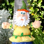 "28"" Large Geeky Giggler Gnome"