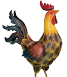 "21"" Tuscan Rooster Decor"