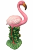 "20"" Flamingo Statue - Natural Pink"