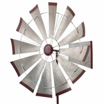 "32"" Galvanized Windmill Spinner"