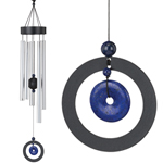"32"" Healing Stone Wind Chime - Lapis"