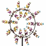 "32"" Vortex Wind Spinner - Butterflies"