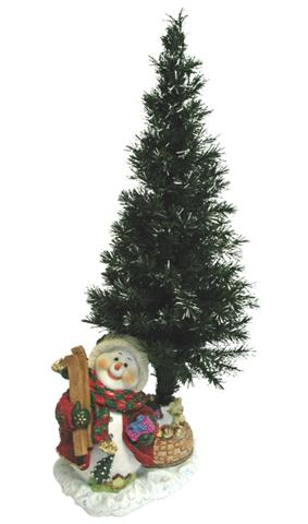 36 fiber optic christmas tree decoration frosty snowman only 3699 at garden fun