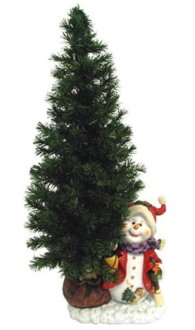 36 fiber optic christmas tree decoration happy snowman only 3699 at garden fun