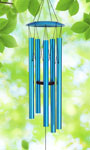 "40"" Blue Wind Chime"