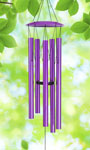 "40"" Purple Wind Chime"