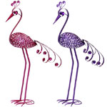 "41"" Filigree Bird Combo Pack - Pink & Purple"
