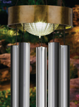 "42"" Solar Wind Chime - Gold"
