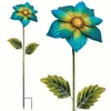 "46"" Gorgeous Flower Stake - Blue"