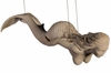 "48"" Swimming Mermaid Hanging Decor - Roman Stone"