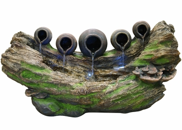 5 Tipping Pots Forest Fountain - Click to enlarge