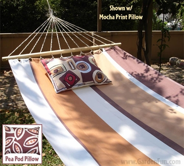 60 Thompson Stripe Fabric Hammock - Click to enlarge