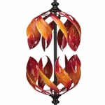 "66"" Double Flame Wind Spinner"