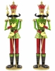 "72"" Green Nutcracker Figurines (Set of 2)"