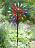 "84"" Multi-Color Double Spinner Stake"