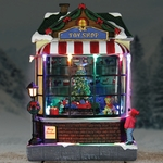 "9"" LED Animated Christmas Train"