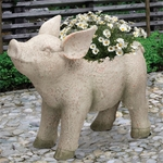Adorable Pig Planter