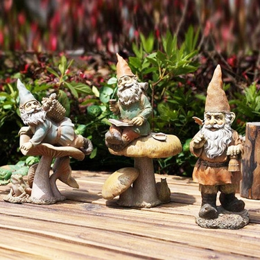 Adventuring Garden Gnomes (Set of 3) - Click to enlarge