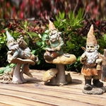Adventuring Garden Gnomes (Set of 3)