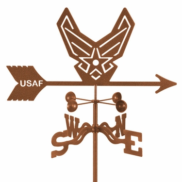 Air Force Weathervane - New - Click to enlarge