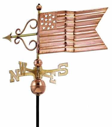 American Flag Weathervane - Click to enlarge