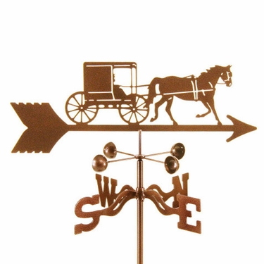 Amish Buggy Weathervane - Click to enlarge