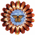 Animated Butterfly Wind Spinner
