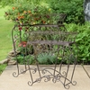 Antique Iron Plant Stands (Set of 2)