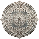 Antique White Medallion Wall Decor