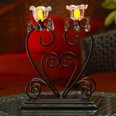 Anywhere Dual Flame Centerpiece - Click to enlarge