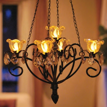 Anywhere Kami Series Chandelier - Bronze - Click to enlarge