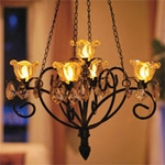 Anywhere Kami Series Chandelier - Bronze