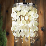 Anywhere Shimmer Chandelier - Pearl