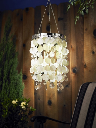 Anywhere Shimmer Chandelier - Pearl - Click to enlarge