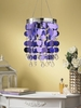 Anywhere Shimmer Chandelier - Purple