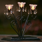 Anywhere Triple Flame Centerpiece