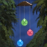 Anywhere Triple Glass Ball - Color Changing