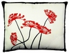 Asian Flowers 2 Outdoor Pillow