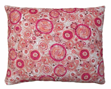 Aztec Red Outdoor Pillow - Click to enlarge