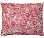 Aztec Red Outdoor Pillow