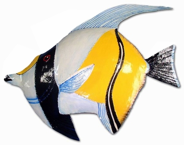 Baby Blue Angel Fish Decor - Click to enlarge