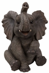 "Baby Elephant Statue ""Ultra-Realistic"""