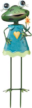 Baby Frog Girl Decor - Click to enlarge